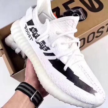 Off-white X Adidas Yeezy Boost 350v2 Basketball Sneakers
