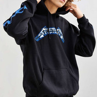 Metallica Ride The Lightning Hoodie Sweatshirt - Urban Outfitters