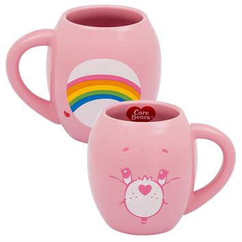 Vandor - Care Bears Cheer Bear 18 oz. Oval Ceramic Mug