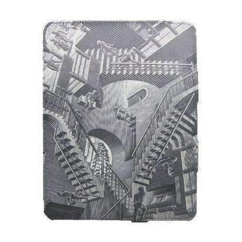 M.C. Escher Relativity Premium Fabric Wrapped Case for iPad 2