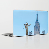 One more bite to outgrow the tallest Laptop & iPad Skin by Digital2real