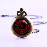 Silent Hill Halo of the sun Pocket Watch,Bronze pocket watch,pocket watch necklace