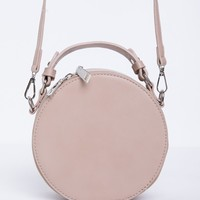 The Hudson Round Crossbody Bag