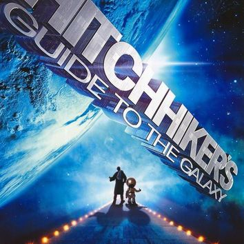 The Hitchhiker's Guide to the Galaxy 27x40 Movie Poster (2005)