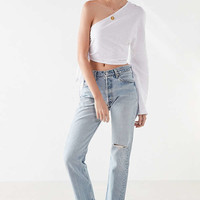 SIR the label Brooke One-Shoulder Tie Top | Urban Outfitters