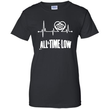 Heartbeat T Shirt - All Time Low T Shirt