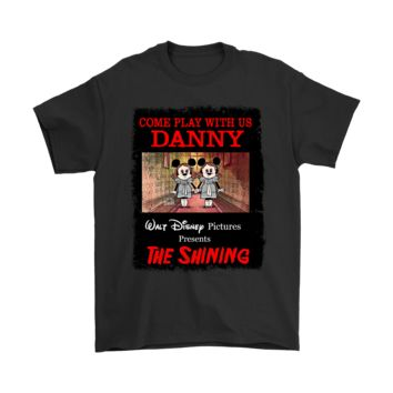 ICIK6Q Come Play With Us Danny Disney The Shining Stephen King Shirts