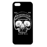 Skull Ouija Iphone Case by Shayne of the Dead