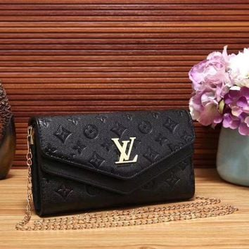 Louis Vuitton Women Fashion Leather Crossbody Shoulder Bag