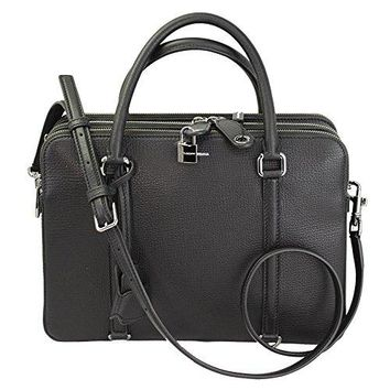 Dolce & Gabbana Black Leather Hand Bag BB4725 With Strap