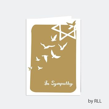 Sympathy Card - Counter