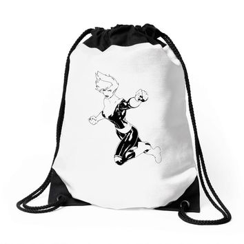 captain marvel 7 Drawstring Bags