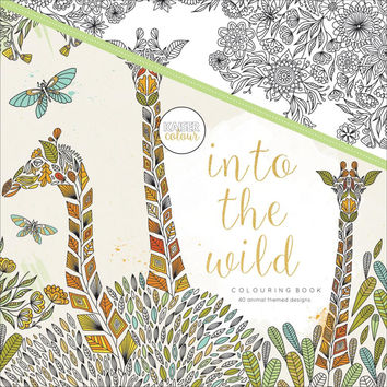 Kaiser Colour Into The Wild Adult Coloring Book