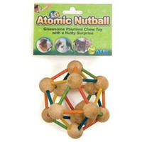 Ware Atomic Nutball for Small Pets | Small Pet Toys