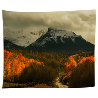 Harvest in the Colorado Mountains Tapestry
