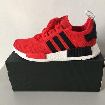 PEAPON ADIDAS ORIGINALS NMD_R1 RED/BLACK/WHITE BB2885 EXCLUSIVE TRAINERS SIZES UK 9,10.