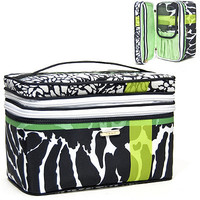 Wildly Adored Double Zip Train Case