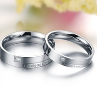 Titanium Ring, Couples Rings,Wedding ring,Promise ring,love ring,Wedding band,his and her wedding ring sets = 1930297924