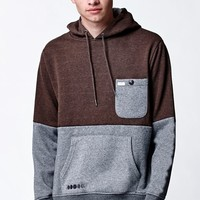 Matix Highside Pullover Hoodie - Mens Hoodie - Brown