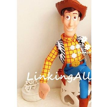 Toy Story 3 WOODY Plush Dolls Soft stuffed Toy for children Christmas gift