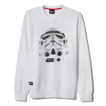 LRG - LRG Face Of War Sweatshirt - White - Star Wars