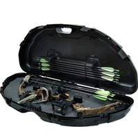 Compound Bow Case Hard Compact Archery Arrow Plano Storage Hunting Travel Case