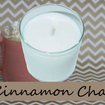 Cinnamon Chai Scented Candle in Tumbler 13 oz