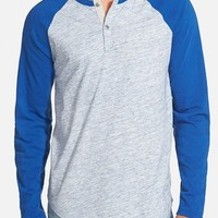 Men's Lucky Brand Long Sleeve Baseball Henley ,