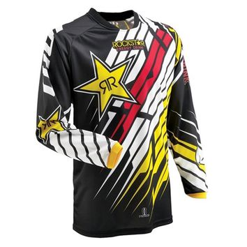 MTB jersey motocross rockstar moto cross clothes maillot camisa ciclismo hombre off-road downhill mtb jerseys vtt cycling shirt