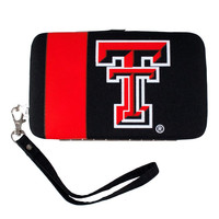 Texas Tech Red Raiders NCAA Shell Wristlet