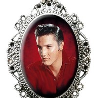 Elvis Cameo Necklace