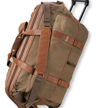 Maine Guide Rolling Duffle, Waxed-Canvas: Maine Guide | Free Shipping at L.L.Bean
