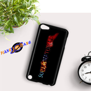 Supernatural logo Art iPod Touch 6 Case Planetscase.com