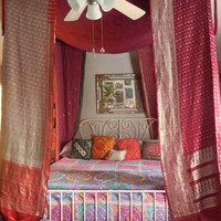 Bohemian Gypsy Bed Canopy Tent