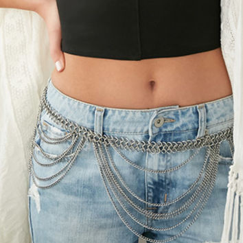 Draped Belly Chain