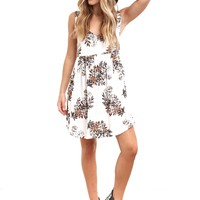 Stunner Floral Mini Dress