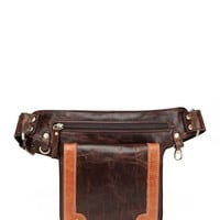 Vicenzo Leather | Deimos Leather Waist Bag Fanny Pack | HauteLook
