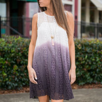 Midnights Arrival Dress, Purple