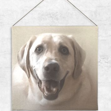 Yellow Lab 1 Tapestry