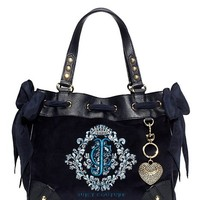 Snowflake Velour Daydreamer Handbag