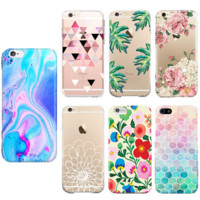 TPU Printed Case Cover for iPhone 6 7 7 Plus