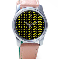 Devil's Eyes Quirky Pattern Wrist Watch