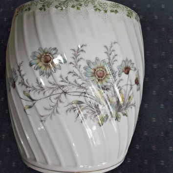 Old German Porcelain Biscuit Jar Rosenthal & Co. Flowers Bottom Only No Lid