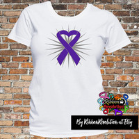 Lupus Heart Ribbon Shirts (Pancreatic Cancer,  Alzheimer's Disease,  Ulcerative Colitis, Cystic Fibrosis and more)