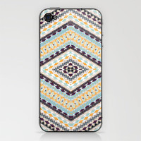 RETRO PATTERN iPhone & iPod Skin by Nika  | Society6