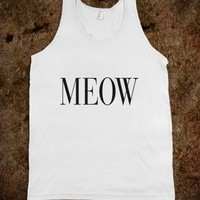 Meow Vogue Couture Typography