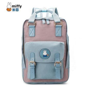 fashion oxford women and men's daily travel duffle backpacks for laptop Korean style vogue hipster versatile youth school bag
