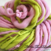 Rose, Thick and Thin Yarn, Art Yarn