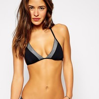 BCBGeneration Treat Yourself Triangle Bikini Top
