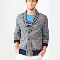 French Terry Nep Shawl Cardigan